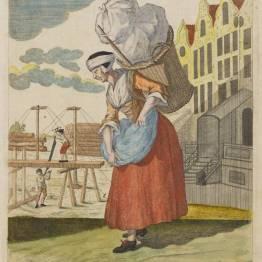 gdańscy wywoływacze - handlarka trocinami
