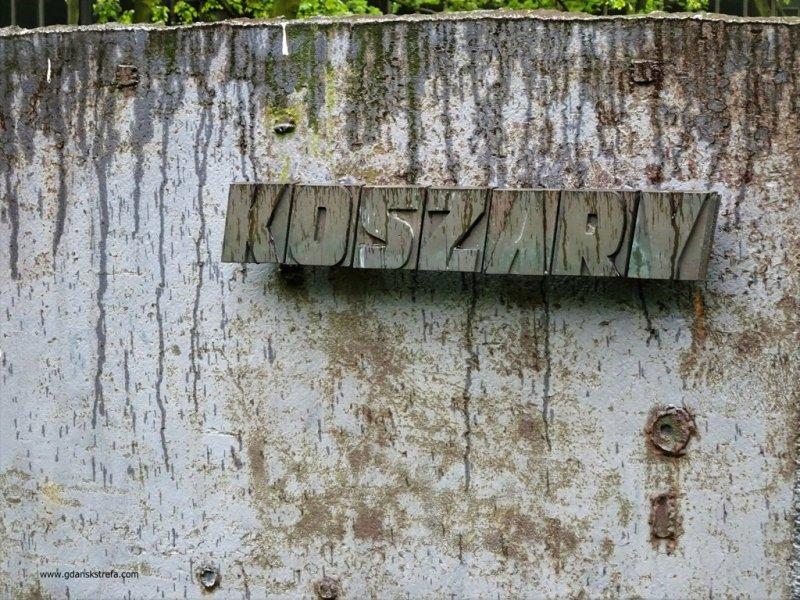 Westerplatte, napis Koszary