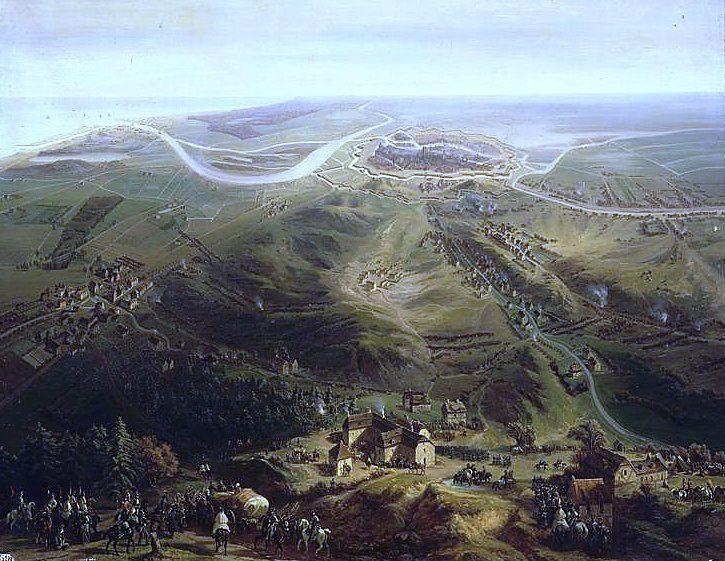 Oblężenie Gdańska w 1807 roku, autor nieznany