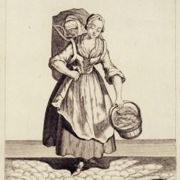 gdańscy wywoływacze - sprzedająca dorsze