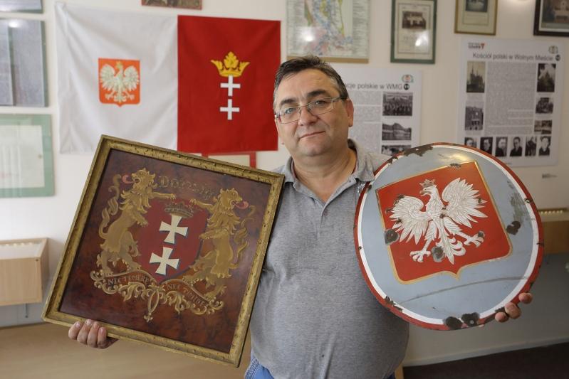 Polskie pamiątki w Izbie Pamięci - Muzeum Strefa Historyczna Wolne Miasto Gdańsk