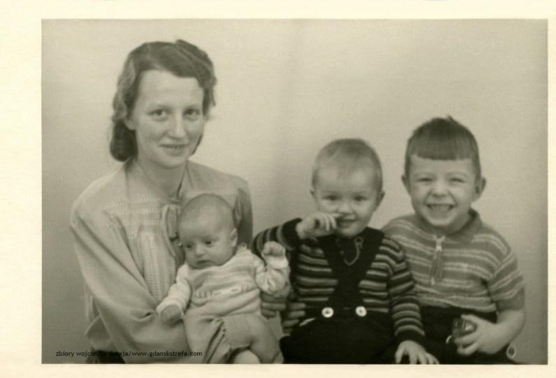 Hildegard Zwickel z dziećmi