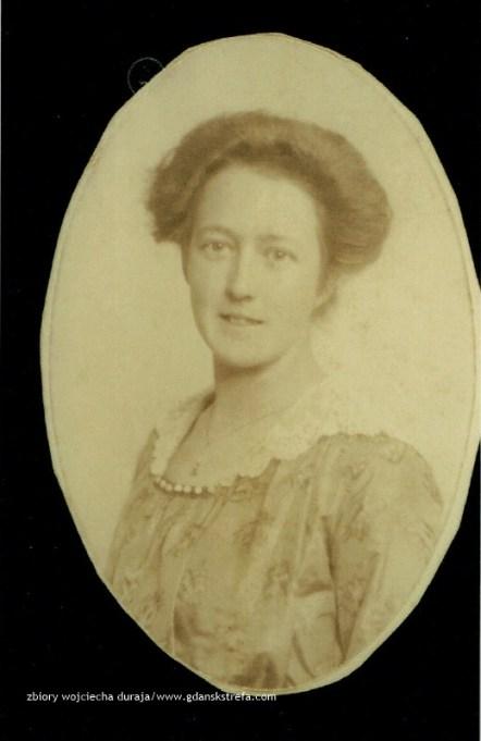 Johanna Czachowski w 1915 r.
