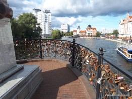 Most miłości z kłódkami....