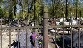 Evangelischer Friedhof II, ogrodzenie