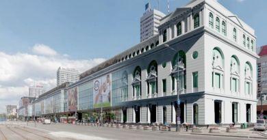 Projekt przebudowy Domów Towarowych CENTRUM w Warszawie