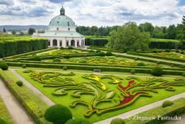 Ogród kwiatowy w Kromieryżu, wpisany na listę UNESCO