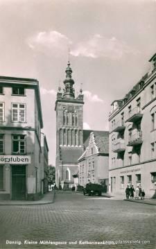 przedwojenna zabudowa ulicy Podmłyńskiej