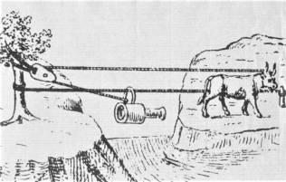 Transport materiałów w 1438 r.