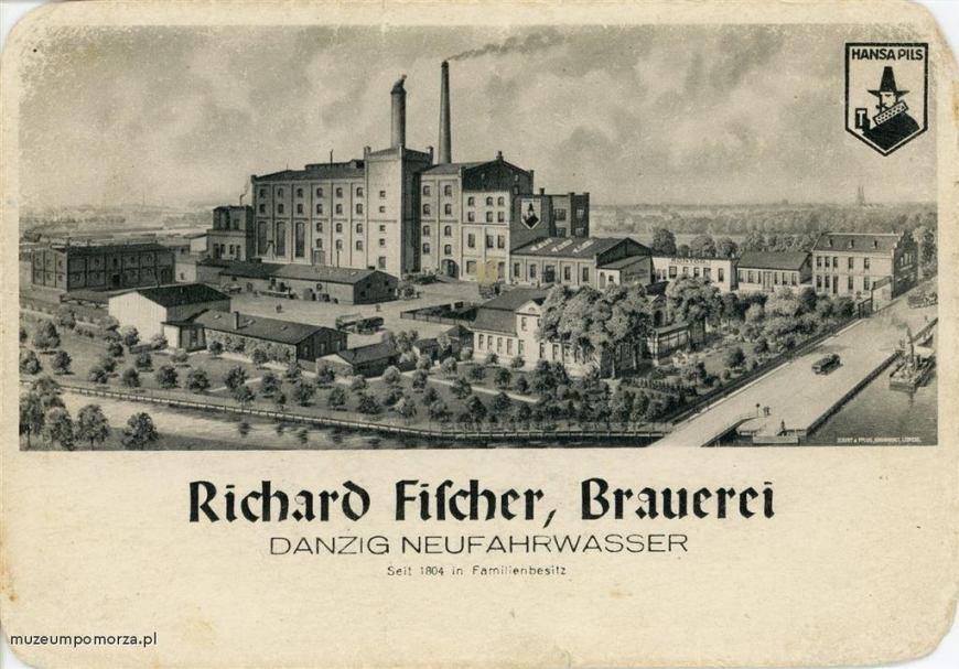 Nieistniejący już browar przy ul. Starowiślnej, należący do rodziny Fischer. Nie istnieje od 1945 roku.