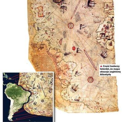 mapa kapitana Piri