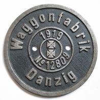emblemat Waggonfabrik Danzig