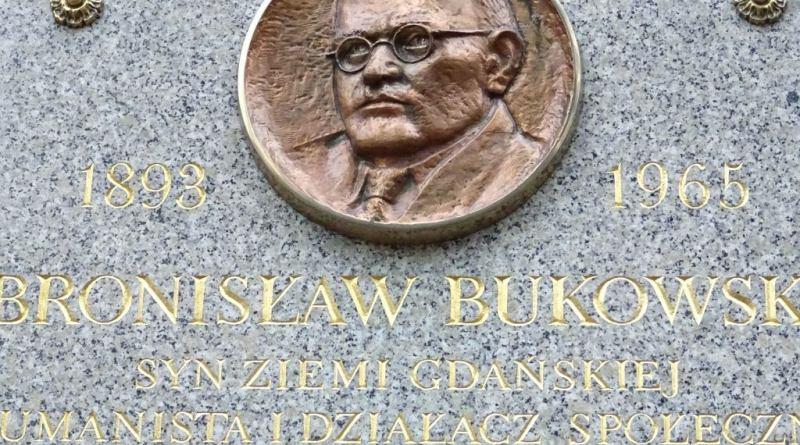 Tablica upamiętniająca prof. Bukowskiego