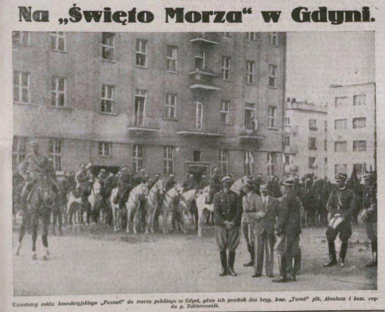 """""""Święto Morza"""" w Gdyni. Ilustrowany Kurier Codzienny."""