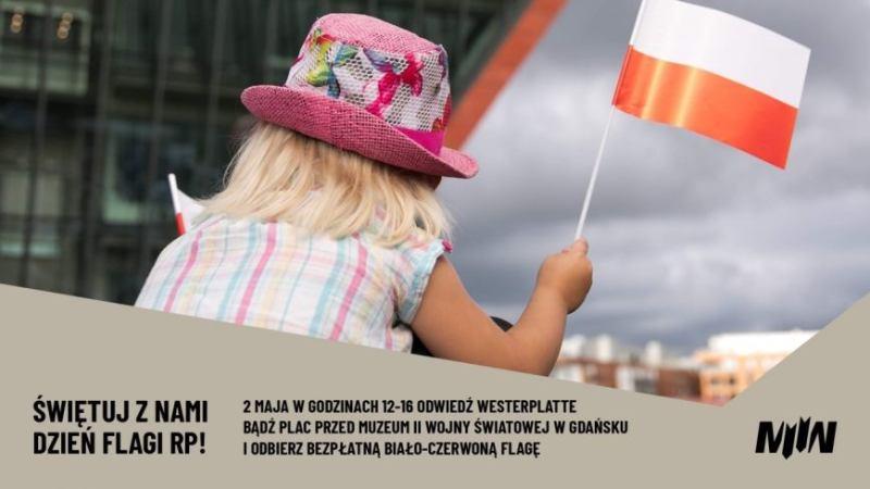W ramach akcji #mojaflaga MIIWŚ będzie rozdawać biało-czerwone flagi