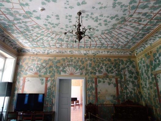 Pałac Przebendowskich, wnętrze