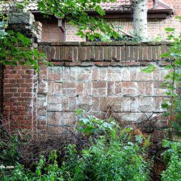 Mur od strony wschodniej