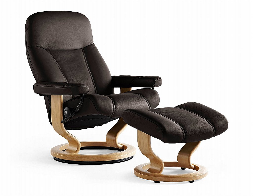 stressless office chairs uk bedroom hanging chair ambassador and stool