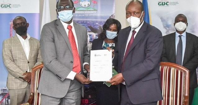 GDC, Nakuru County sign Collaboration Framework Agreement
