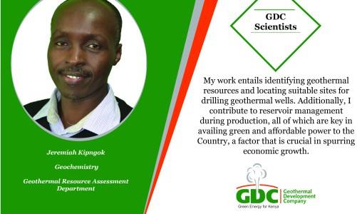 #GDCTeam Jeremiah Kipngok