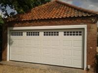 Double Automatic Garage Door - Garage Door Company Grantham