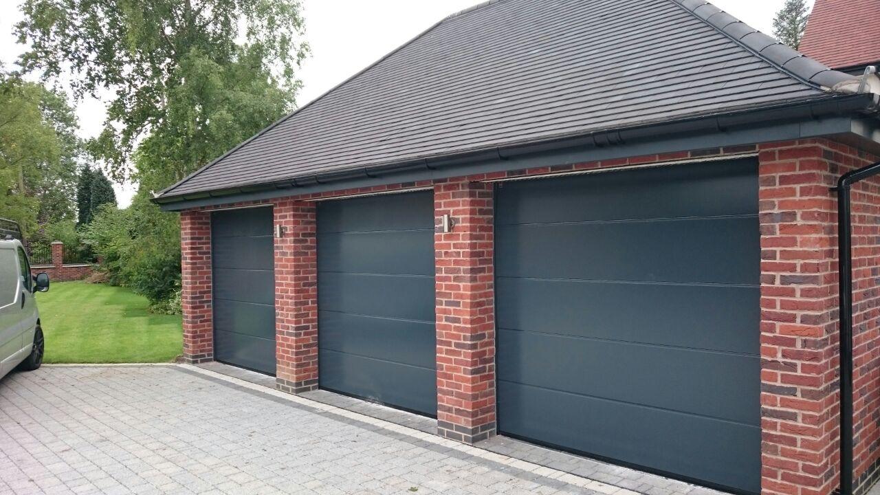 Sectional Garage Doors  Garage Door Company Grantham