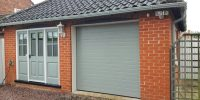 New Insulated Sectional Garage Door  Grantham, East ...