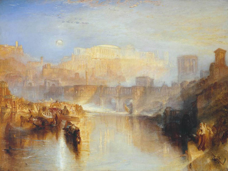 Tate Exhibition: Late Turner – Painting Set Free