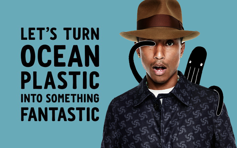 GDC interiors Journal upcycling clothes pharrell_williams