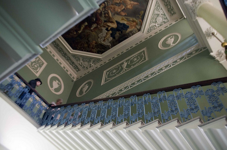 The Great Stair, Osterley Park and House