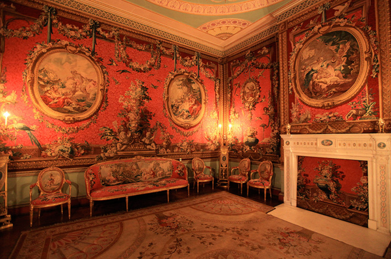 The Tapestry Room, Osterley Park and House