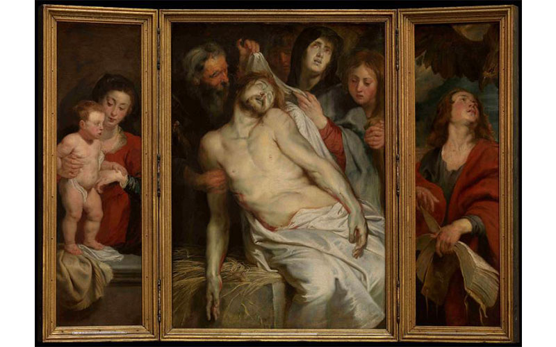 Rubens and his legacy_Christ_on_the_Straw