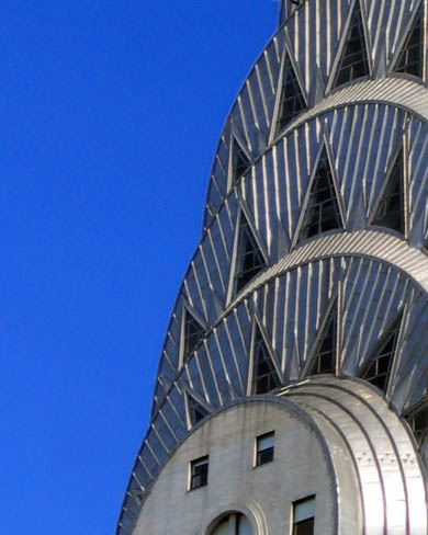 French Art Deco Style Chrysler Building