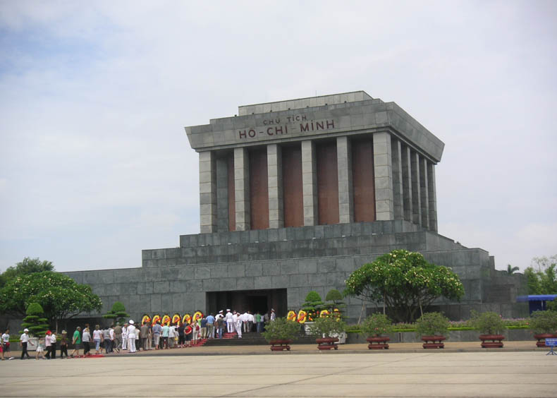 Ho Chi Minh mausoleum Tombs of the Great Leaders
