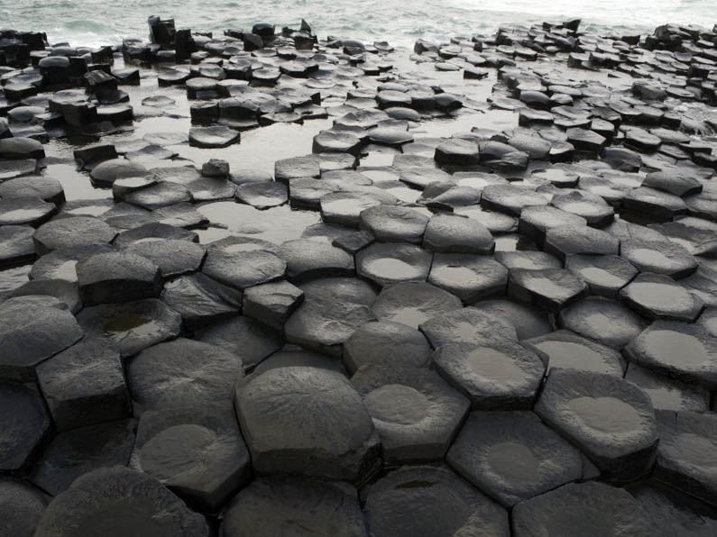 National Trust Properties Basalt columns at Giant s Causeway