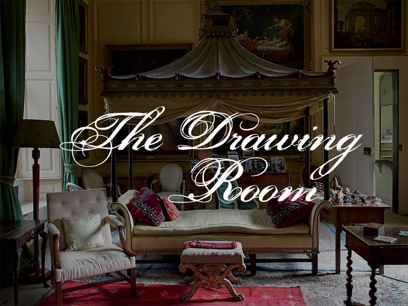 Drawing Room English Country House