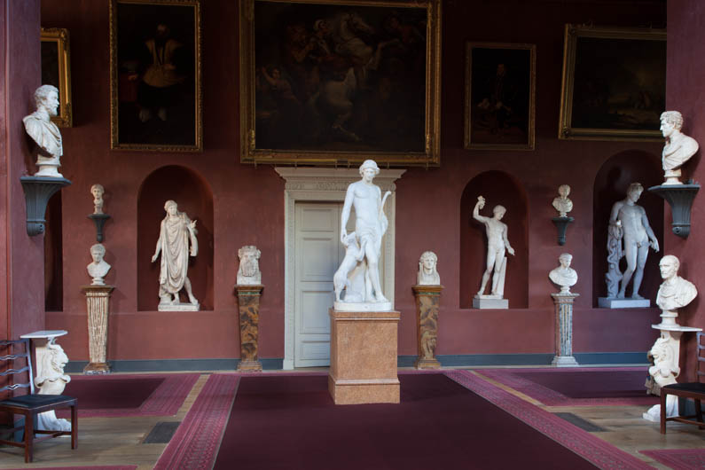 antiques and collectables Petworth House Palladian Sculpture Gallery