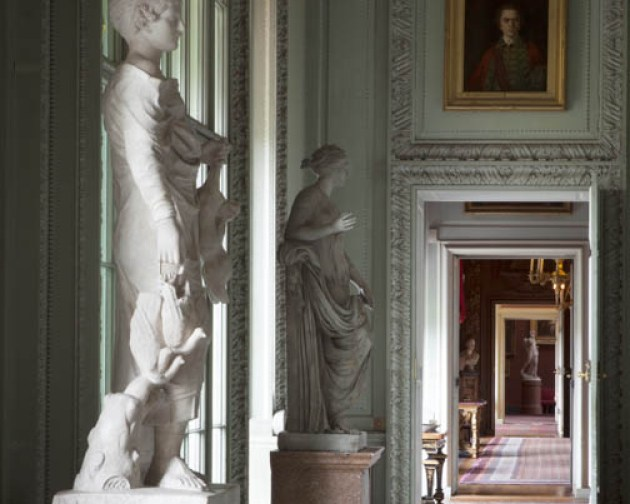 antiques and collectables Petworth House Marble Hall