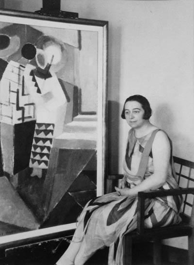 Sonia Delaunay Three Women in Simultaneous Dresses