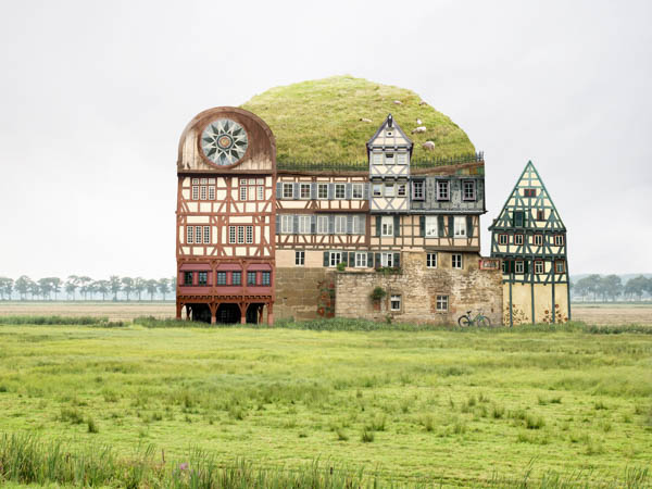 Collages of Matthias Jung On the way to Kamtchatka