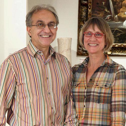 Peter and Leonora Petrou masterpiece london 2015