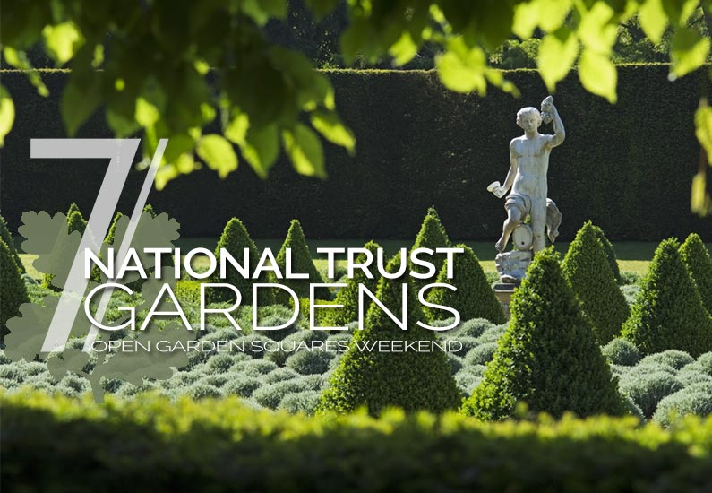 7 Unique National Trust Gardens to Enjoy on Open Garden Squares Weekend 2015