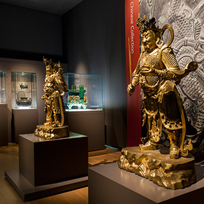 Chinese collection at Compton Verney. photo by Jamie Woodley