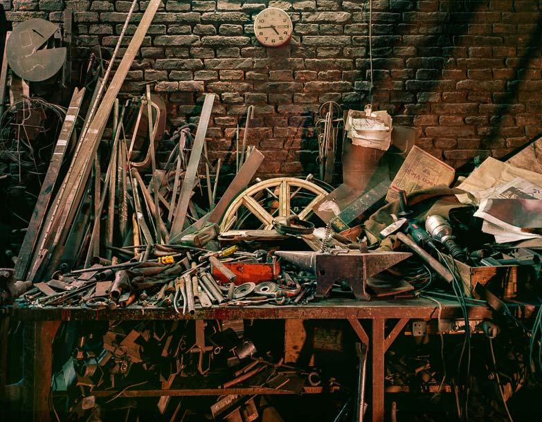 Guillermo-Srodek-Hart-Pelado Welding Shop