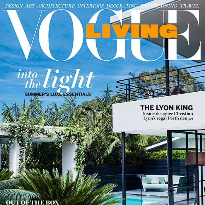 gdc interiors in the press Vogue living