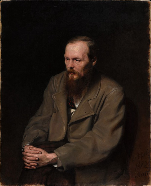 Fedor Dostoevsky by Vasily Perov Russia and the Arts - The Age of Tolstoy and Tchaikovsky