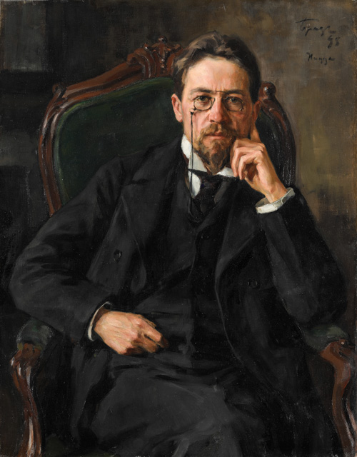 Anton Chekhov by Iosif Braz Russia and the Arts - The Age of Tolstoy and Tchaikovsky
