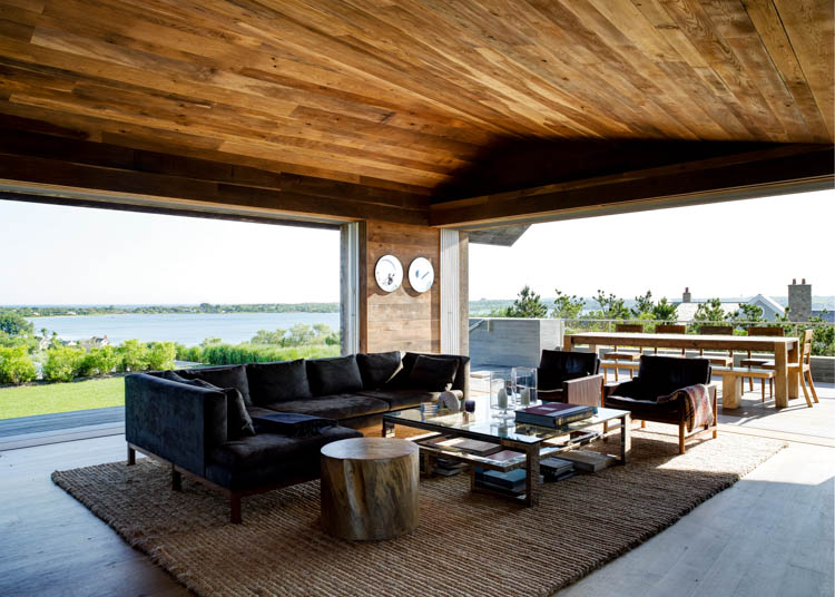 Waterside Modern, Amagansett House, Long Island, New York, USA
