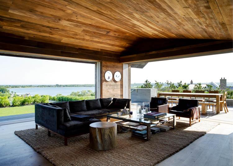 Waterside Modern, Amagansett House, Long Island, New York, USA