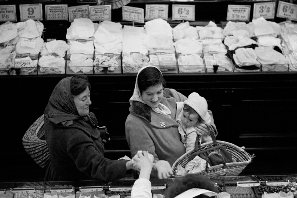 Woolworths. Exmouth Market, Clerkenwell, 1954 Photograph by Colin O'Brien How London Has Changed